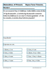 fichas matemáticas sexto primaria 09