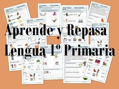 Aprende y repasa lengua primero primaria