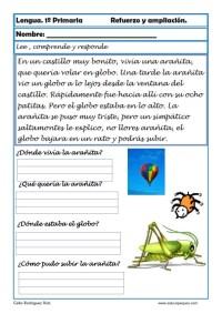 aprender repasar lengua primaria 22