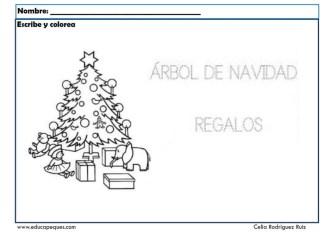 fichas actividades navidad 03