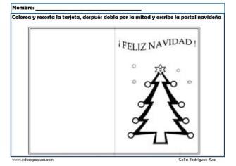 fichas actividades navidad 13