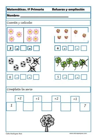 matemáticas primero primaria 03