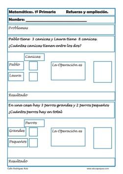 matemáticas primero primaria 07