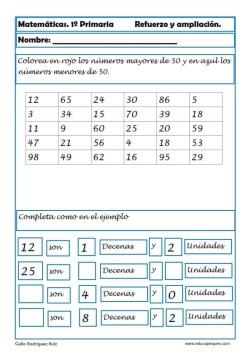 matemáticas primero primaria 22