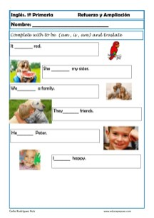 Inglés primaria 07