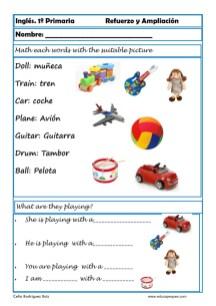 Inglés primaria 18