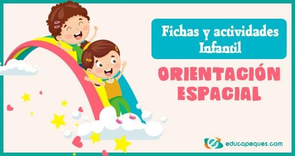 nociones espaciales, conceptos espaciales, orientacion espacial para niños, actividades para trabajar nociones espaciales en preescolar
