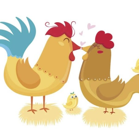 don gallo y doña gallina
