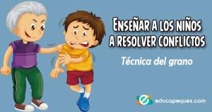 resolucion de conflictos para niños