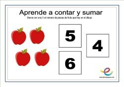 contar y sumar 11