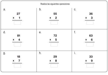 multiplicación 09