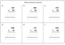 multiplicación 15