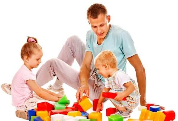 jugar con los niños