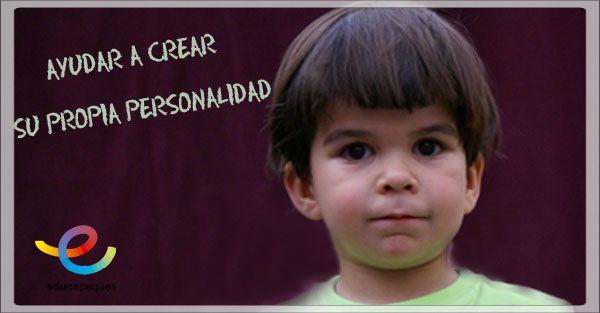 personalidad infantil, desarrollar la personalidad niños
