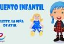 Cuentos infantiles cortos: Celeste, la niña de azul