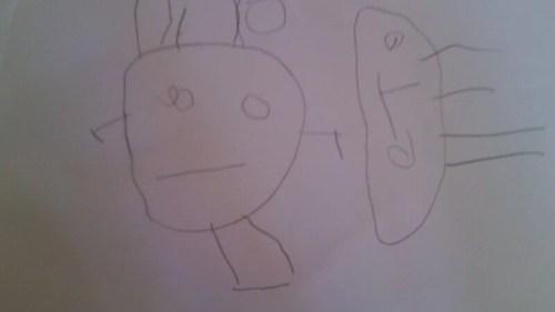 realismo frustrado, dibujo infantil
