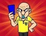 arbitro-tarjeta-azul