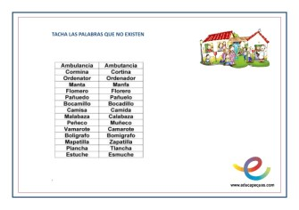 Tabla dislexia 3