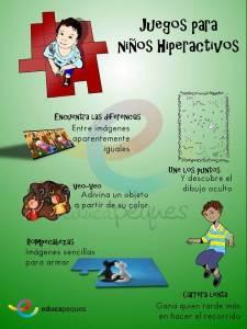 niños hiperactivos, imágenes educativas, infografías educativas, infografías, imágenes en educación