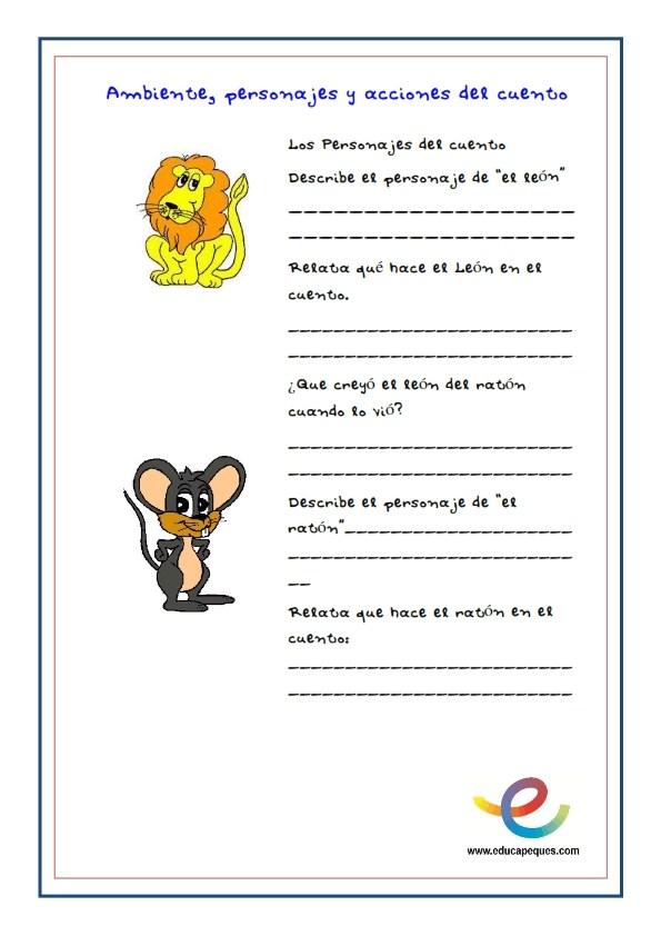 Fichas comprension lectora Cuentos infantiles para dormir 01