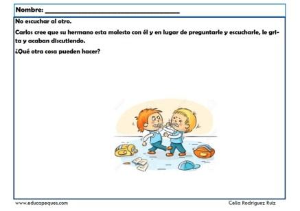 fichas para niños comunicación 12