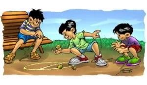 Peonzas juego tradicional