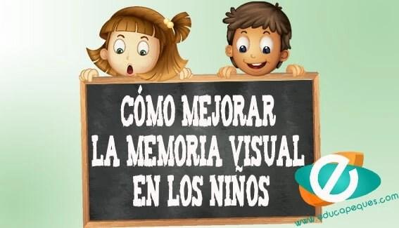 Memoria visual en los niños