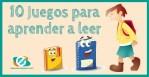 Juegos para aprender a leer en niños y niñas