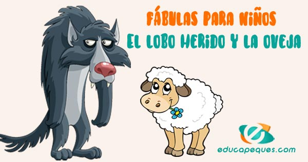 El lobo herido y la oveja