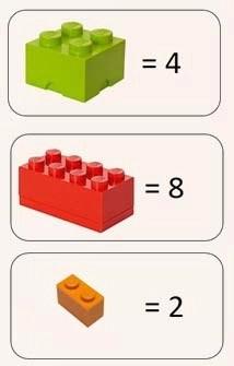 lego para multiplicar