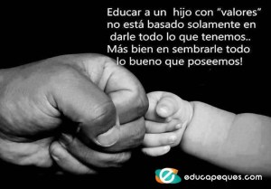 frases con valores, frases educativas, frases