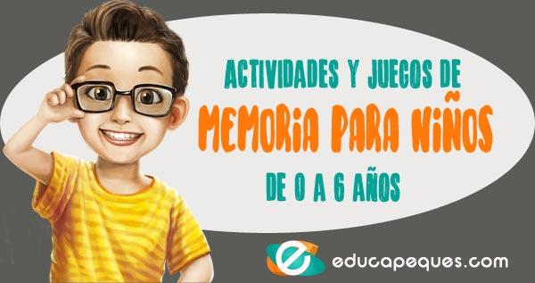 juegos de memoria para niños