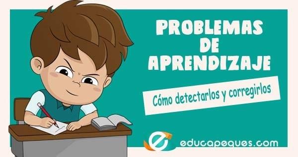 trastornos de aprendizaje, problemas de aprendizaje, dificultades de aprendizaje en niños