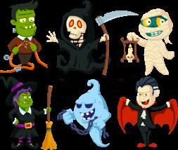 00 Personajes Halloween