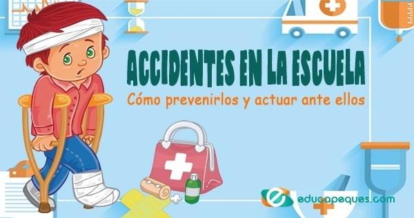 accidentes en la escuela