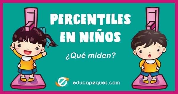 percentiles en niños