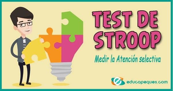test de stroop, atención selectiva