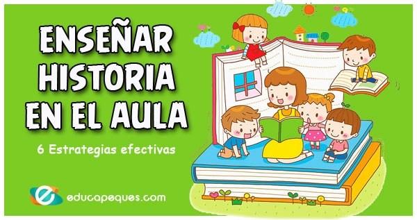 enseñar historia, historia infantil, historia primaria