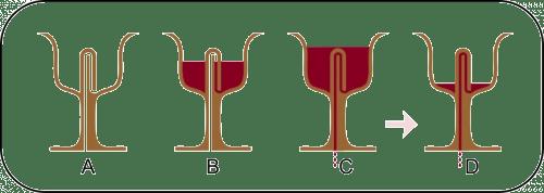 elaborar copa pitágoras
