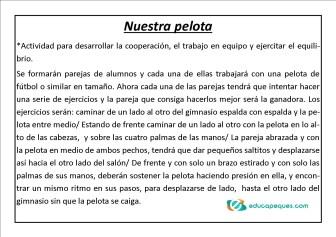 Fichas educación física 05