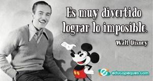 frases Walt Disney