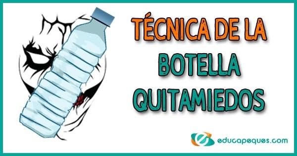 botella quitamiedos