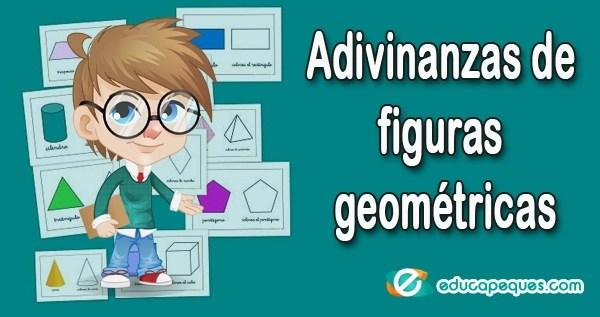 Adivinanzas De Figuras Geometricas Para Ninos De Infantil Y Primaria