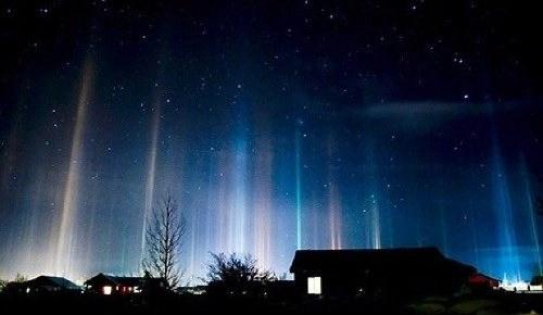 Pilares luminosos