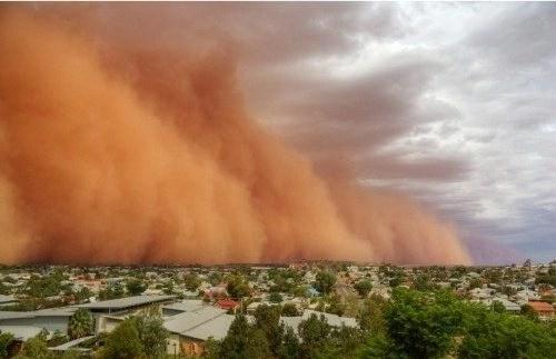 tormenta de fuego, fenómenos naturales