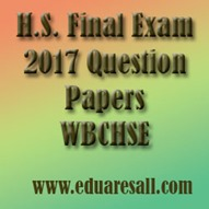 HS Final Exam 2017 Question Papers