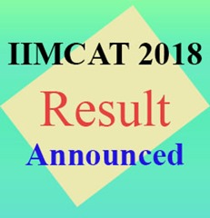 CAT 2018 Result Published