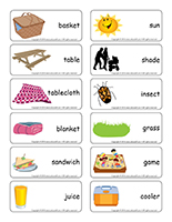 Picnics  Theme and activities  Educatall