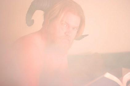 Reader in the Mist