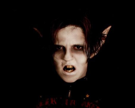 Vampire Make Up TEST